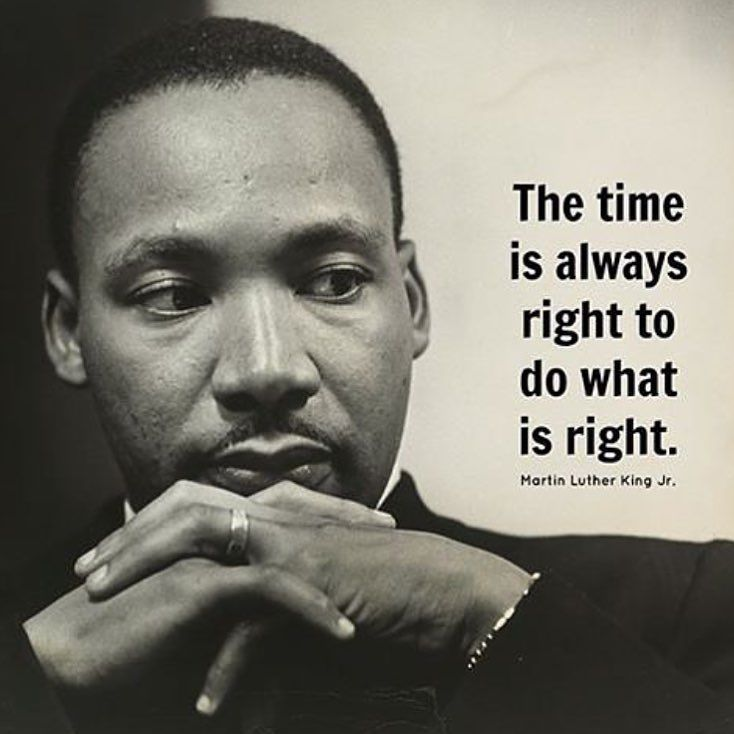 mlkday repost by Martin luther king