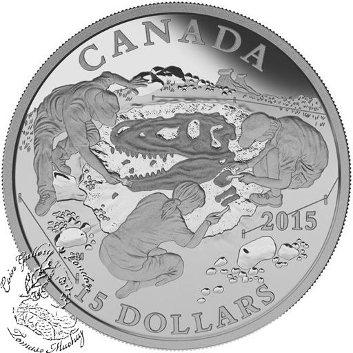 Coin Gallery London Store - Canada: 2015 $15 Exploring Canada: Scientific Exploration Silver Coin, $54.95