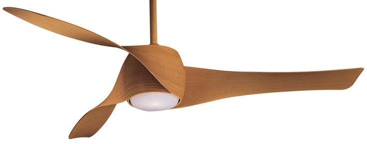 Minka Aire | Artemis Ceiling Fan: in maple!