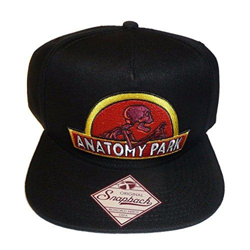 6cf68c8d31c Bioworld - Rick And Morty Anatomy Park Logo Snapback Baseball Hat - OSFM