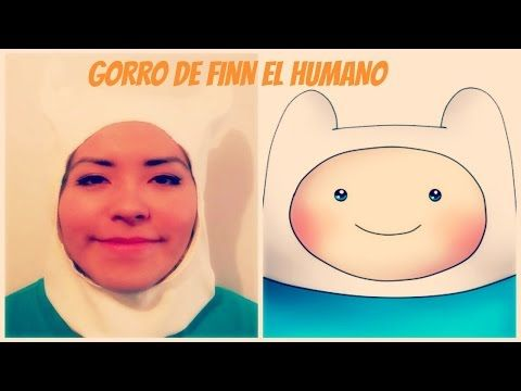 GORRO DE FINN EL HUMANO - HORA DE AVENTURA / Adventure Time Finn's hat the Human (Costume Halloween) - YouTube