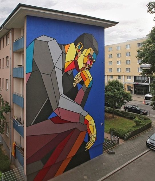 The Thinker by Dimitri Aske - Mannheim, Germany, 2014 (LP)