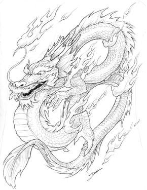 chinese dragon coloring page - Chinese Dragon Head Coloring Pages