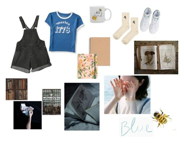 """""""The raven cycle"""" by masulen on Polyvore featuring Aéropostale, adidas, Rifle Paper Co, Andrew Martin i Topshop"""