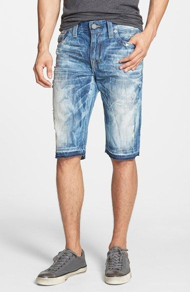True Religion Brand Jeans 'Ricky' Denim Shorts available at #Nordstrom