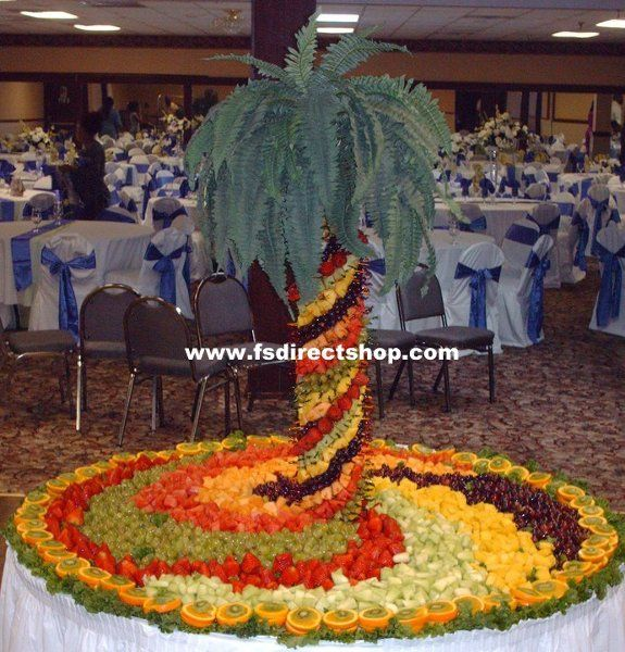 Edible Fruit Tree Centerpiece | Fruit Tree