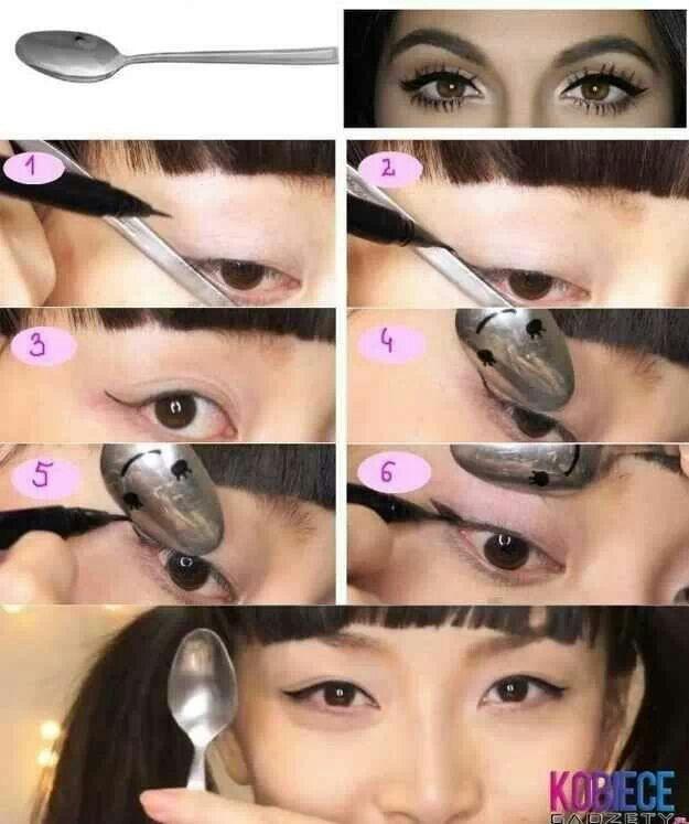 #Teaspoon story#eyeliner