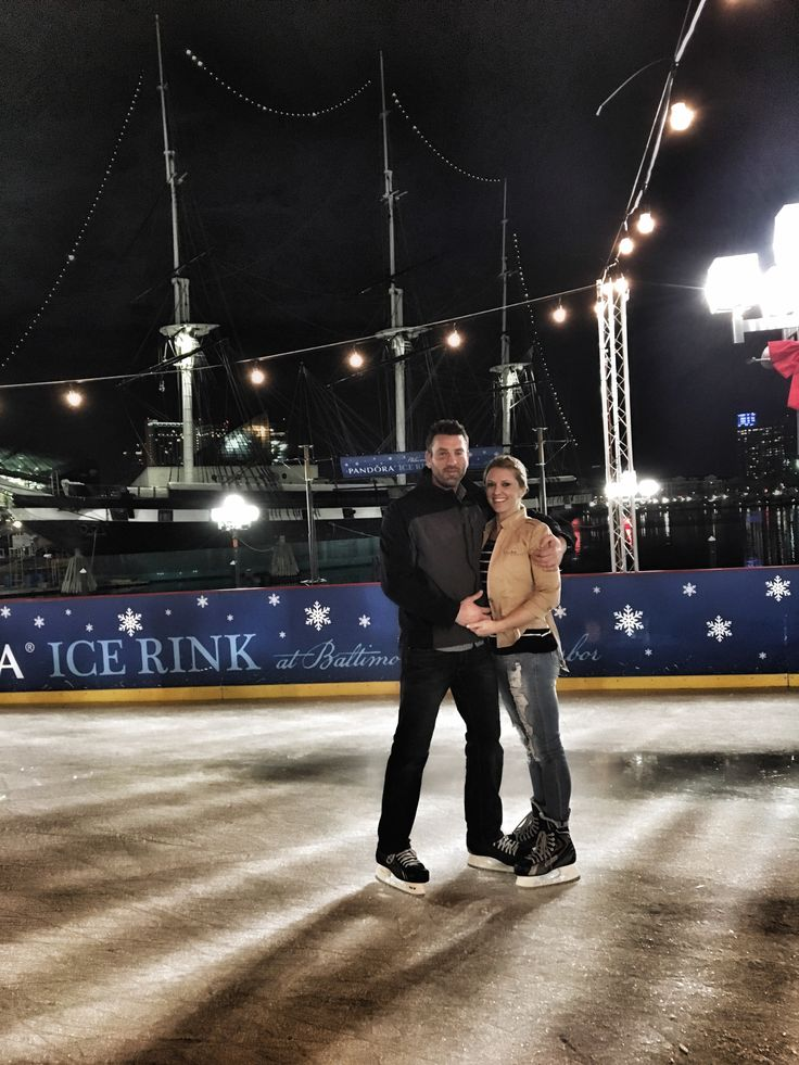 Surprise date night with @aquaholic93600  ice skating ⛸ in the inner harbor. You know what's better than ice skating?? Walking, working, driving, falling on ice, getting shots from doctor, hangovers, yelling kids, being fired from a job and the ravens record this year  but we had 10mins of fun so it was worth it #iceskating #baltimore #innerharbor #maryland #mdinfocus #ouch #shinsplints #datenight #wetried #love #lessonlearned #memories