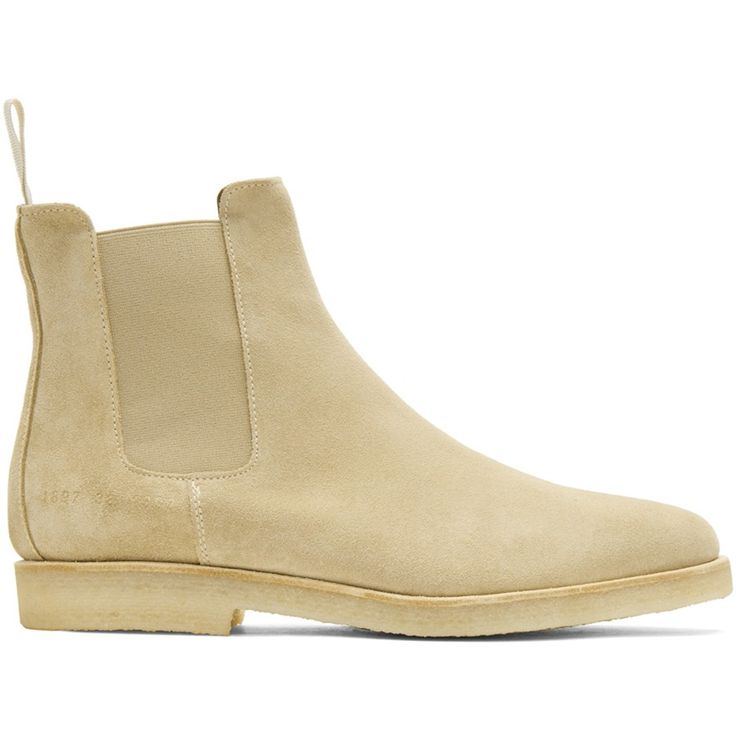 Common Projects Tan Suede Chelsea Boots Women #fashion #sneakers #blackfriday #gifts #style