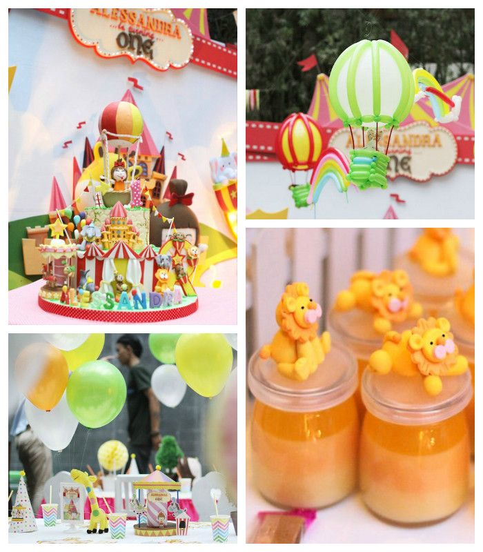 Carnival + Amusement Park Themed Birthday Party via Kara's Party Ideas KarasPartyIdeas.com Cake, decor, favors, food, banners, and more! #carnival #carnivalparty #amusementparkparty #carnivalpartyideas (2)