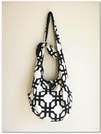 Black & White Boho Sling bag
