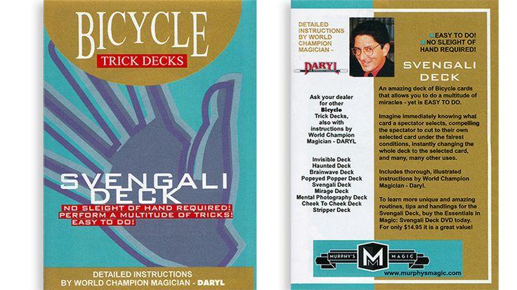 Svengali Deck Mandolin Bicycle (Blue)