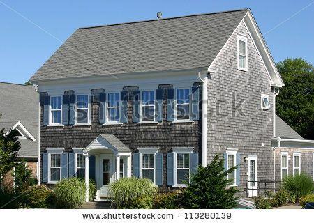 17 best decorative gable trim images on pinterest gable for Cape cod house characteristics