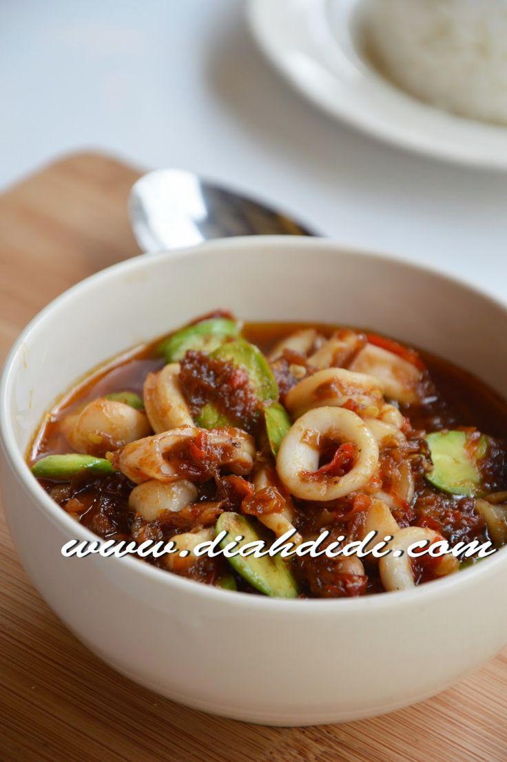 Diah Didi's Kitchen: Balado Cumi & Petai