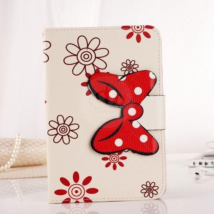Capa Carteira para iPad Air Lacinho Minnie Flores