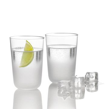 Stelston, Frost Glass Set Of 2