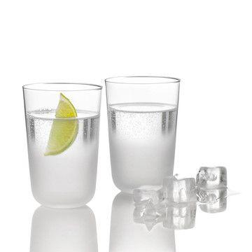 Stelston, Frost Glass Set Of 2