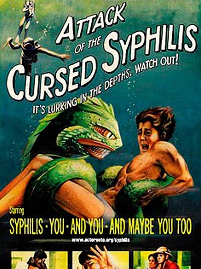 Vintage STD prevention poster. #tbt #throwbackthursday