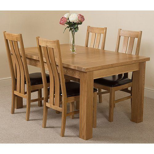 25+ Solid oak dining table and chairs uk Inspiration