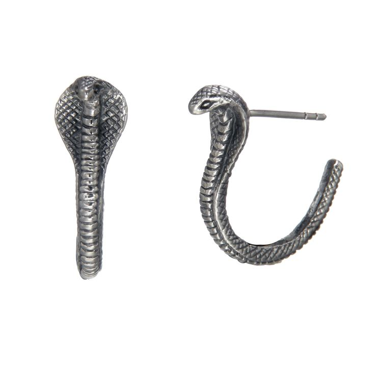 Cobra Hoop Earrings