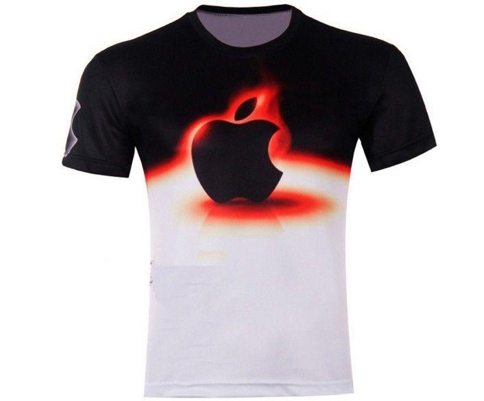 Pánská trička s 3D potiskem Apple – pánská trička – VELIKOST L Na tento produkt se vztahuje nejen zajímavá sleva, ale také poštovné zdarma! Využij této výhodné nabídky a ušetři na poštovném, stejně jako to …