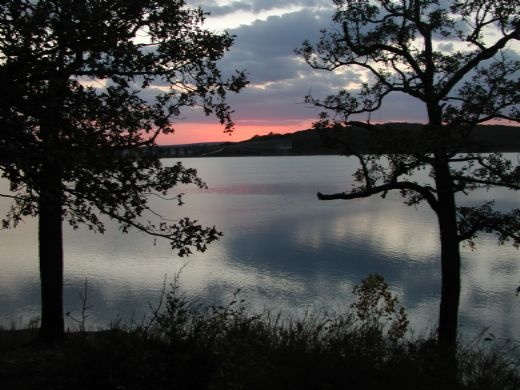 TenKiller State Park, Cookson, OK.  One of the most beautiful lakes in Oklahoma!