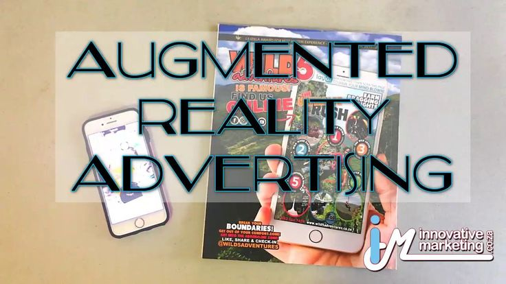 Innovative Marketing you can bring your adverts to life with Augmented Reality, the way of the future! Let us take your advertising to new levels!