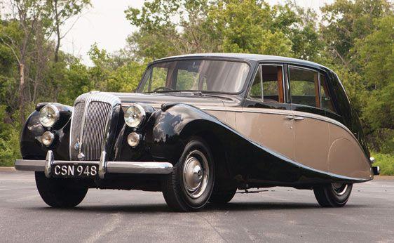 1953 Daimler Empress Mark II Saloon