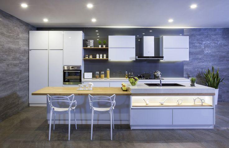 Unique Aluminium Kitchen Cabinet Design