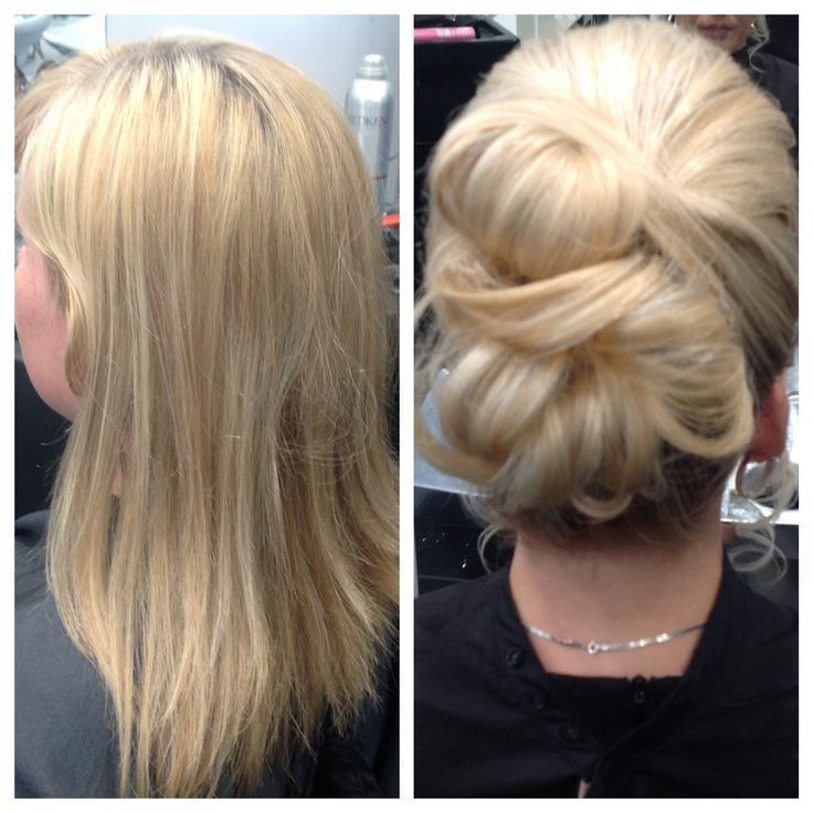 Before & After #hairup #MLBlondes