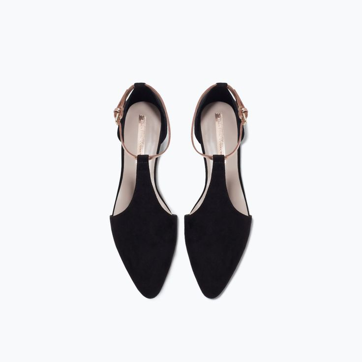 ANKLE-STRAP FLATS-View all-Shoes-WOMAN | ZARA United Kingdom