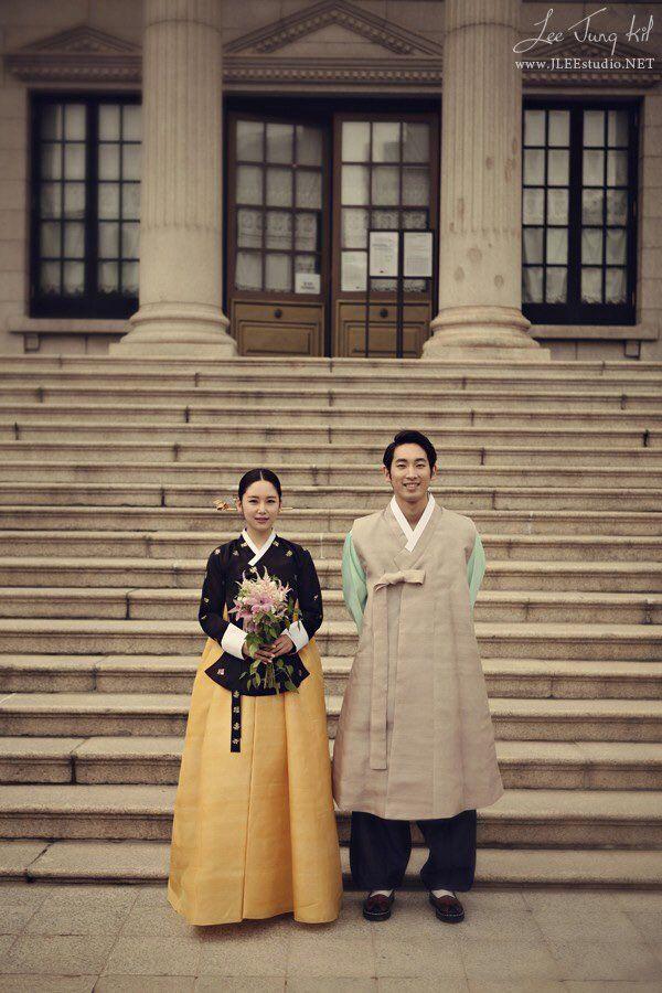 웨딩 wedding 한복
