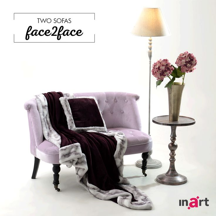 Two sofas – one choice. Which one do you like the most? #inart #Face2Face #Sofas #TeamLilac #TeamGrey
