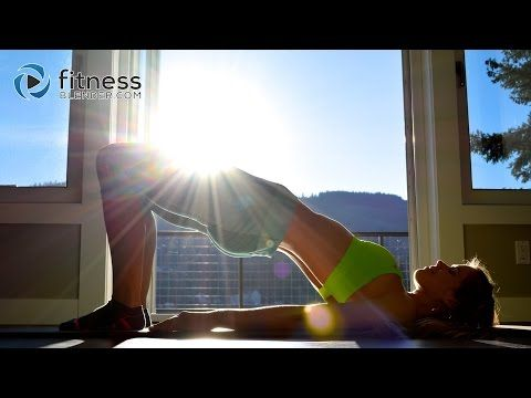Butt & Thigh Pilates Barre Workout Blend - Pilates Butt and Thigh Workout for Toning & Flexibility - YouTube