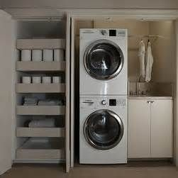 Concealed Laundry Area - Yahoo Image Search results