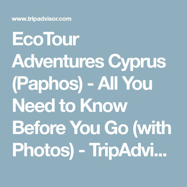 EcoTour Adventures Cyprus (Paphos) - All You Need to Know Before You Go (with Photos) - TripAdvisor