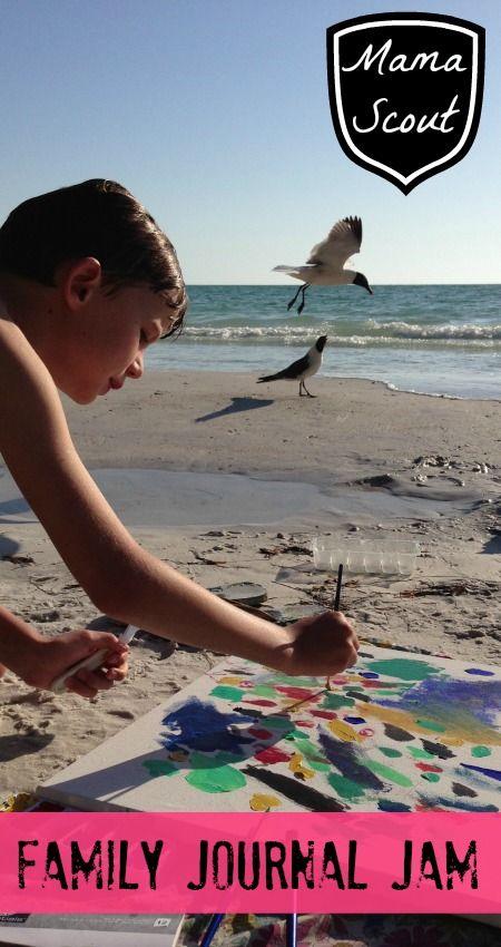 Family summer camp - Journalling for kids - Journal Jam online summer camp