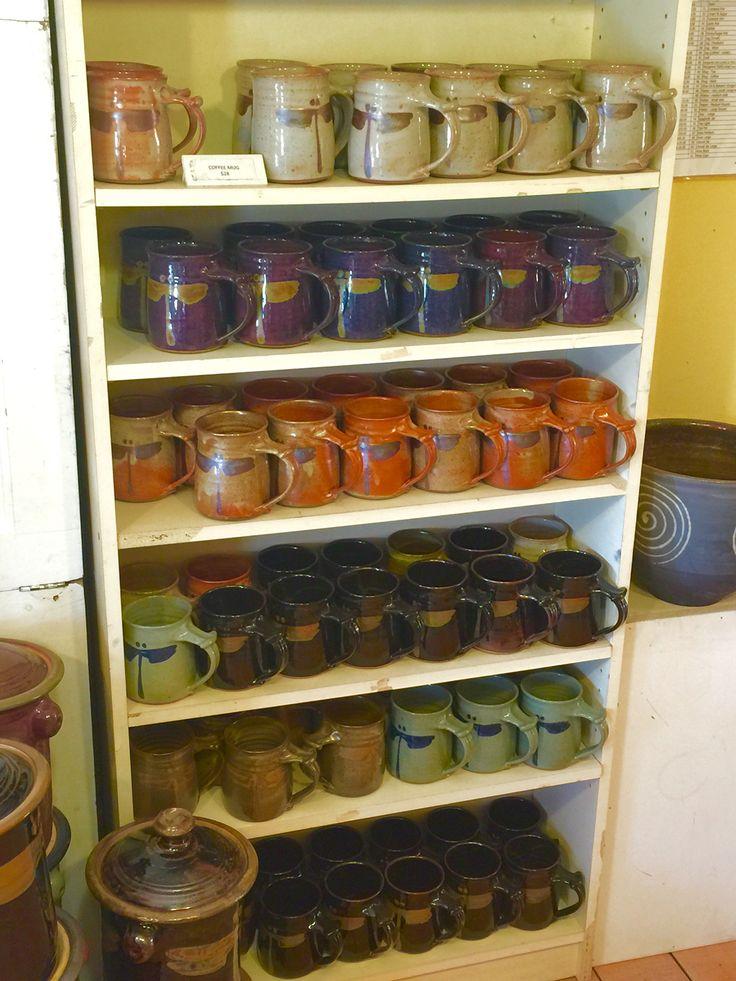 http://richardfisherpottery.com/  Coffee Mugs