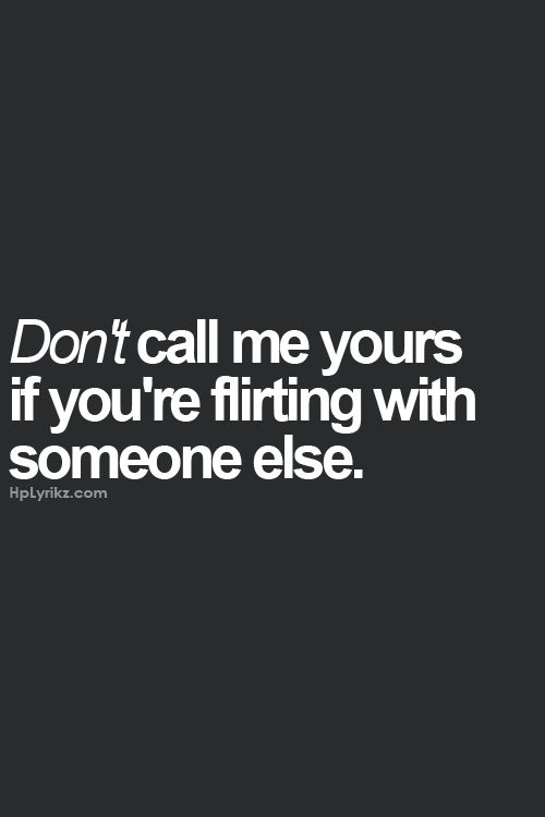 just because i flirt quotes