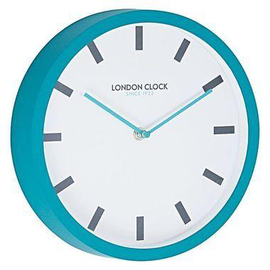 Pop Teal Wall Clock