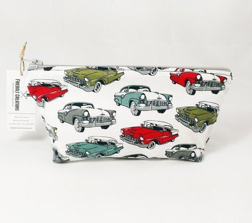 Classic Cars Toiletry Bag  back in stock! http://ift.tt/1LMhqo9  #automobile #doppbag #travel #technology #computer #classiccars #colorful #tuesday #red #musclecar #musclecars #makeupbag #vintagecars #electronics #fireboltcreations #etsy #etsyscout #etsyshop #etsyseller #etsyfinds #travel #travelbag #traveler #auto #shaving #design #graphic #car #cars