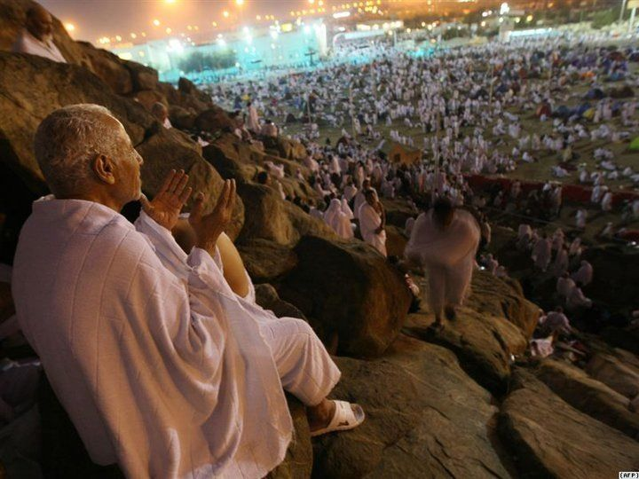 Can you travel around the world in one day? Yes if you sit on Arafah! It is a melting pot!