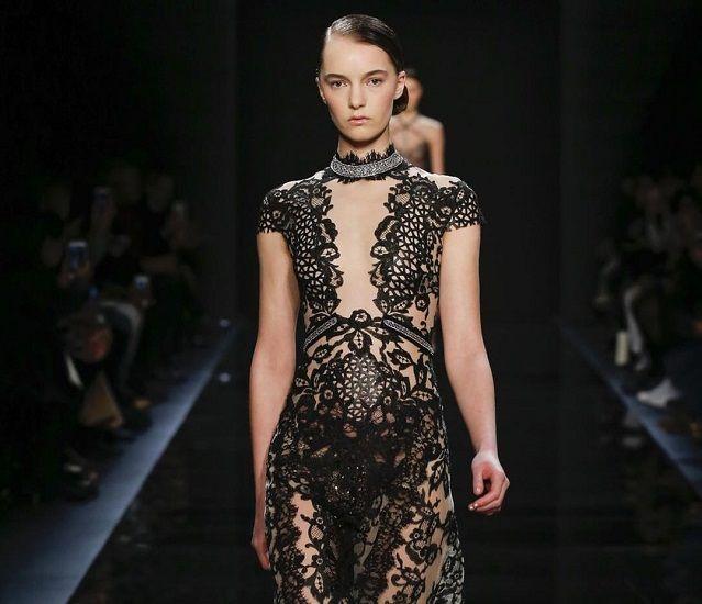 Неделя моды прет-а-порте в Нью-Йорке: изысканная сексуальность Reem Acra #ReemAcra #мода #показ #неделямоды #newyork #newyorkfashionweek