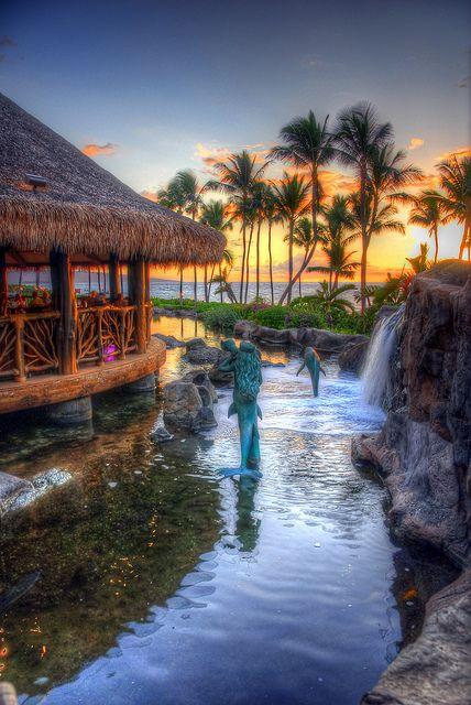 Grand Wailea Resort, Maui, Hawaii. I want to go back!