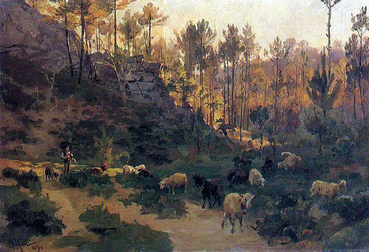 Keil-rebanho-1a - Pintura de Portugal – Wikipédia, a enciclopédia livre