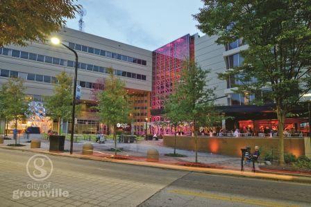 Hyatt Regency Greenville-NOMA Square-City of Greenville http://www.greenville.hyatt.com/en/hotel/home.html