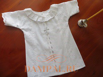 крестильная рубашка для младенца