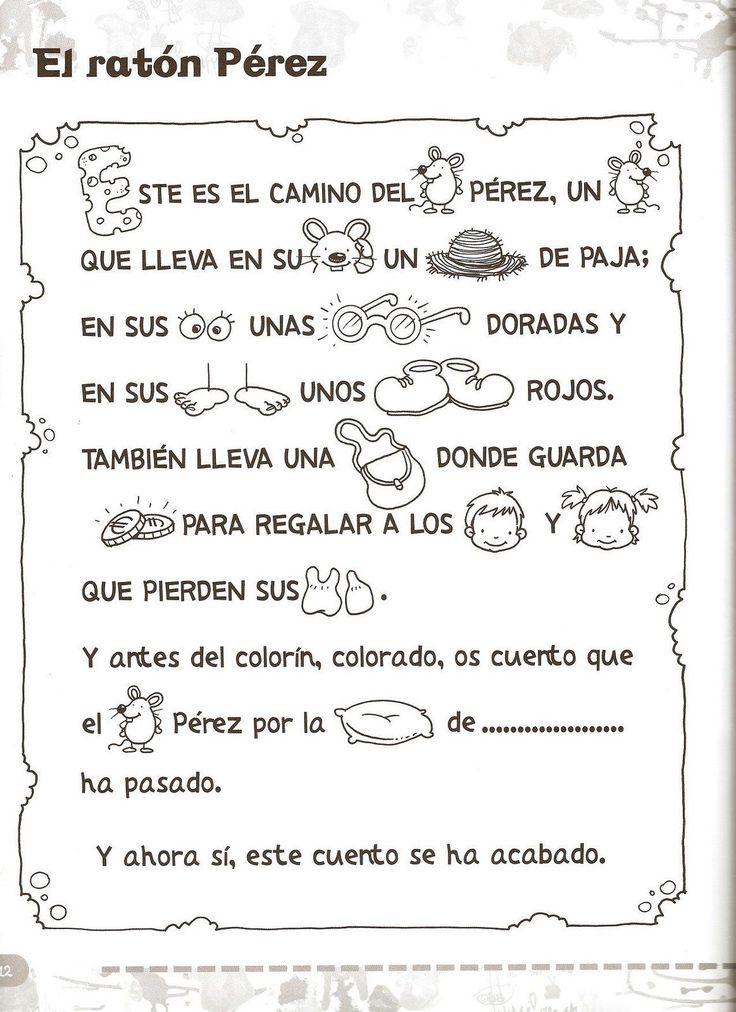 Cuento con pictogramas del Ratoncito Pérez | cuentosinfantiles.biz