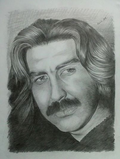 one of the best drawings of Dawood sarkhosh