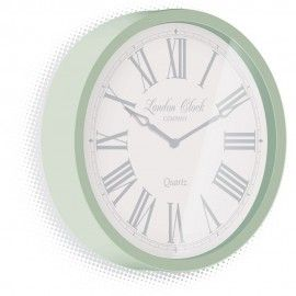 Alice Green Wall Clock 30cm - On sale for £27.95